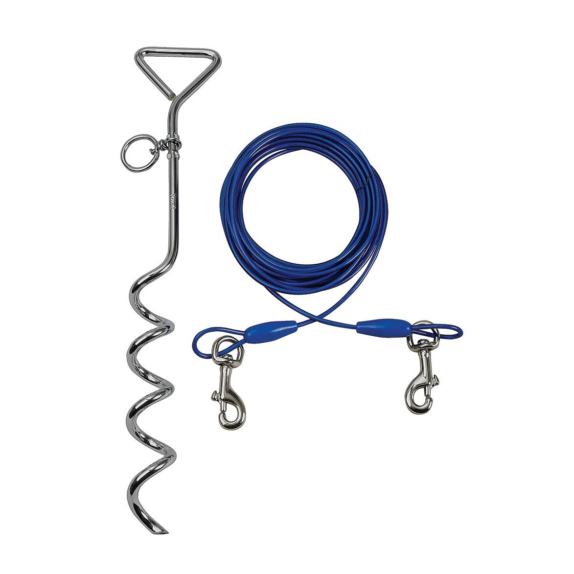 Smart Pet Love Simply Essential Dog Tie Out Cable, Small