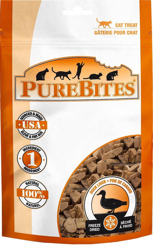 PureBites Duck Freeze-Dried Cat Treats Image