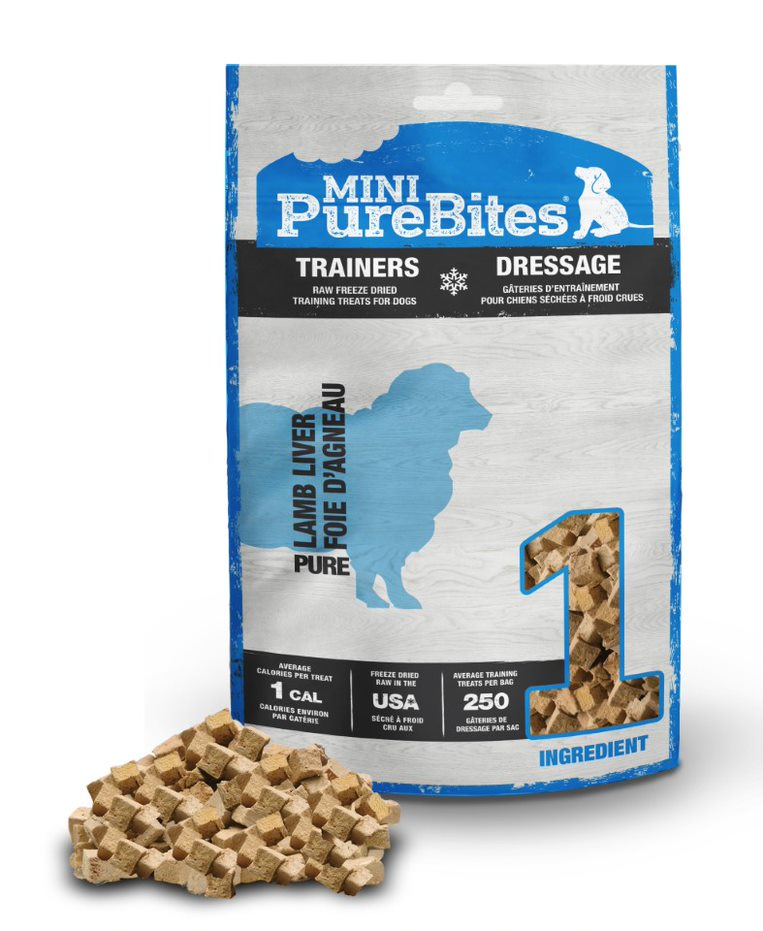 Mini PureBites Trainers Lamb Dog Treats, 2.4-oz