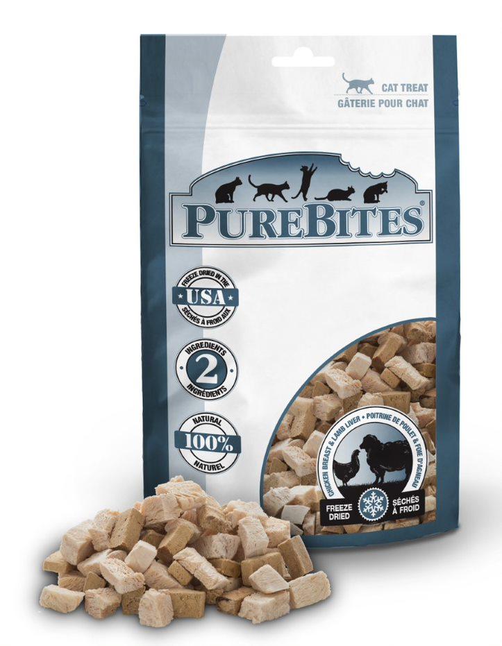 PureBites Chicken Breast & Lamb Cat Treats