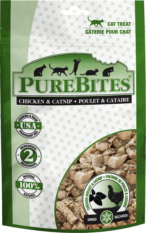 PureBites Chicken Breast & Catnip Freeze-Dried Cat Treats, 1.3-oz bag (Weights: 1.3ounces) Image