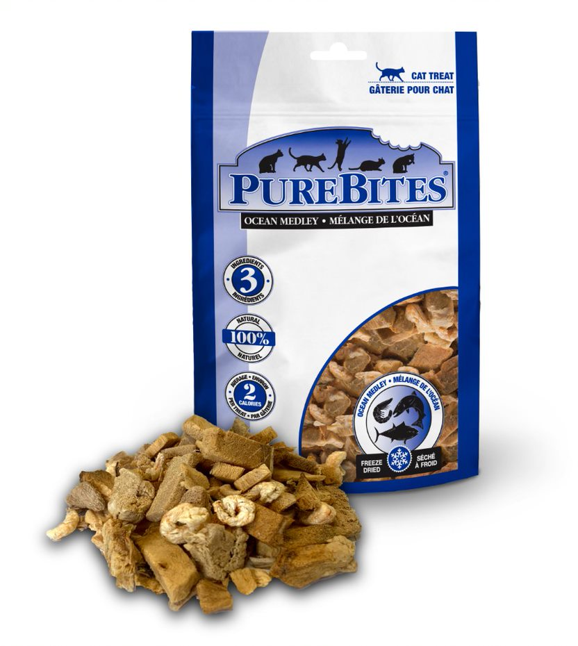 PureBites Ocean Medley Cat Treats
