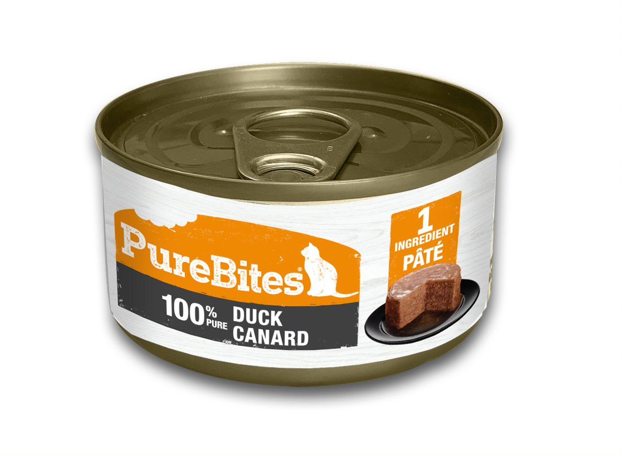 PureBites Patés 100% Pure Duck Cat Treats, 2.5-oz