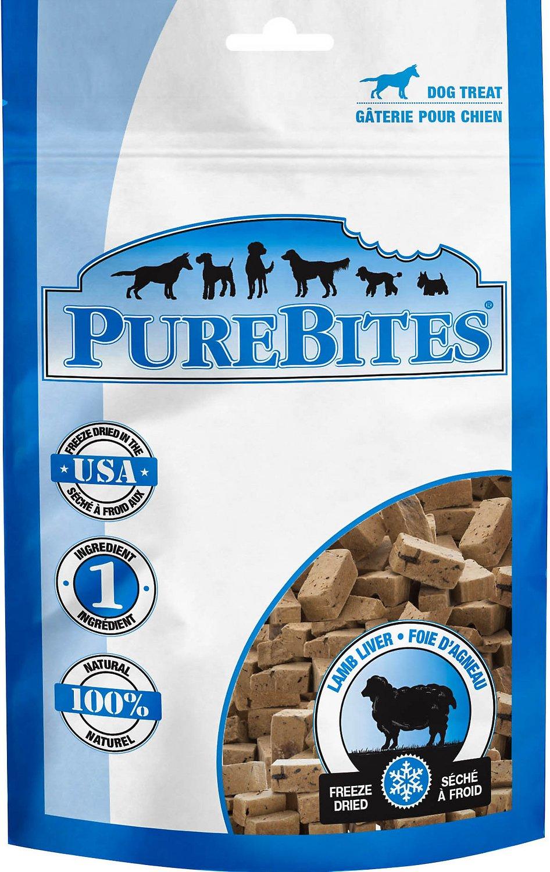PureBites Lamb Freeze-Dried Dog Treats Image