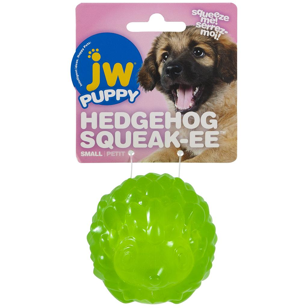 JW Pet Puppy Hedgehog Squeak-ee Dog Toy