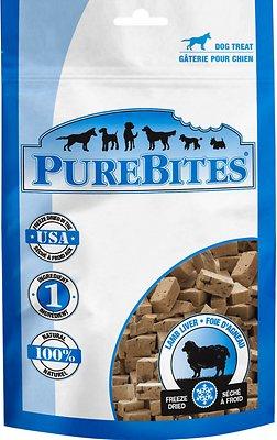 PureBites Lamb Freeze-Dried Dog Treats, 3.4-oz bag
