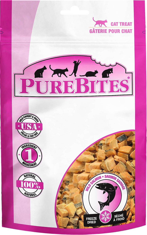 PureBites Salmon Freeze-Dried Cat Treats Image