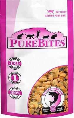 PureBites Salmon Freeze-Dried Cat Treats, 0.92-oz bag