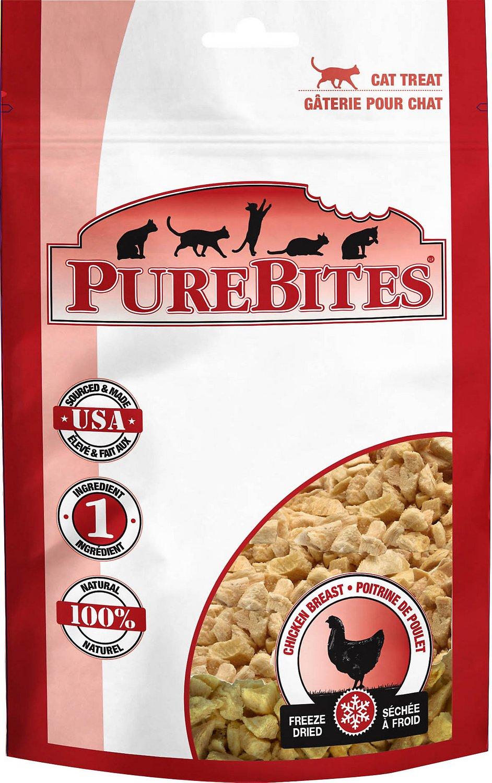PureBites Chicken Breast Freeze-Dried Cat Treats Image