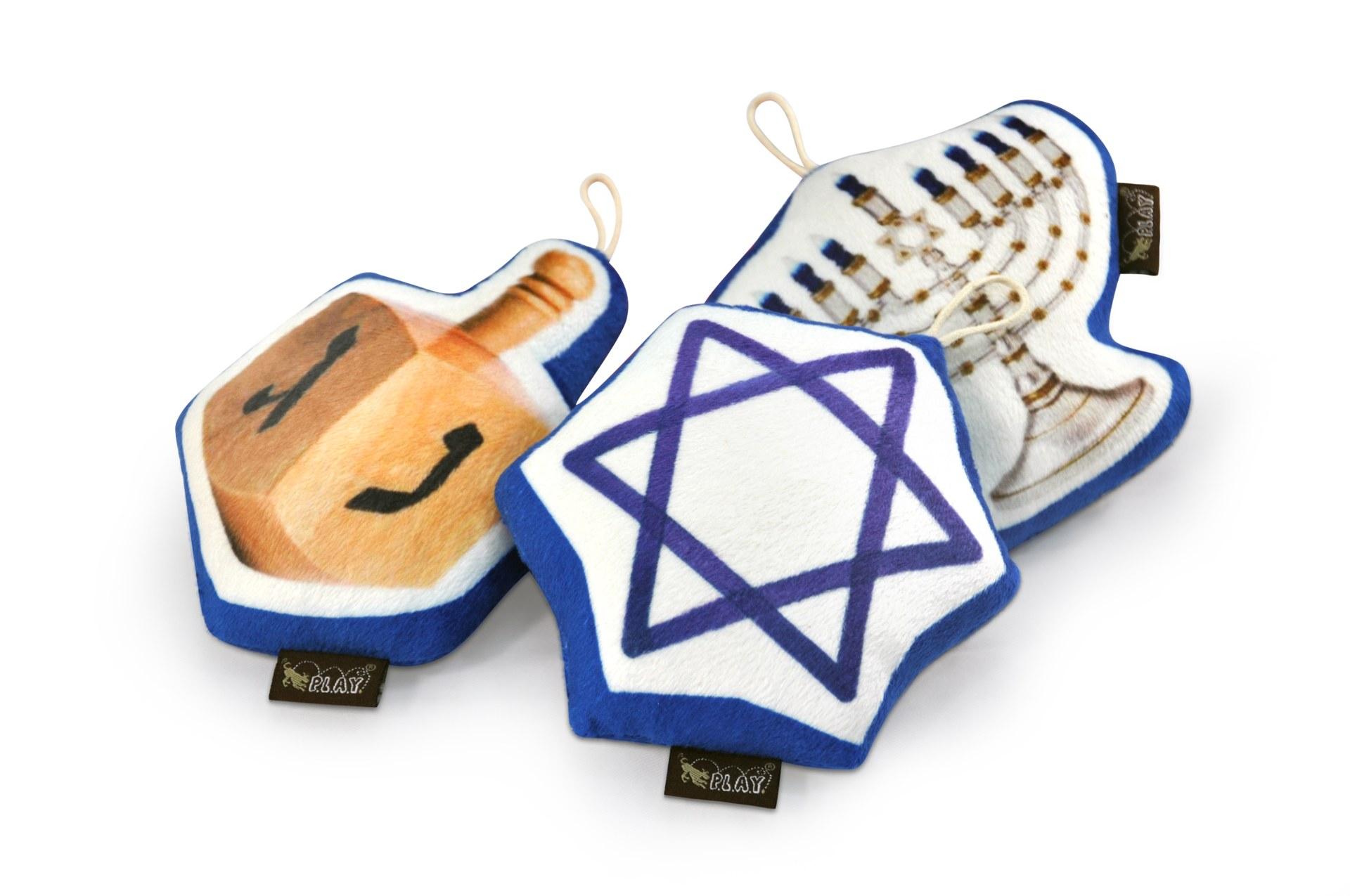 P.L.A.Y. Hanukkah Dog Toy Set