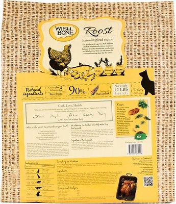 Wishbone Roost Grain-Free Dry Cat Food, 12-lb bag