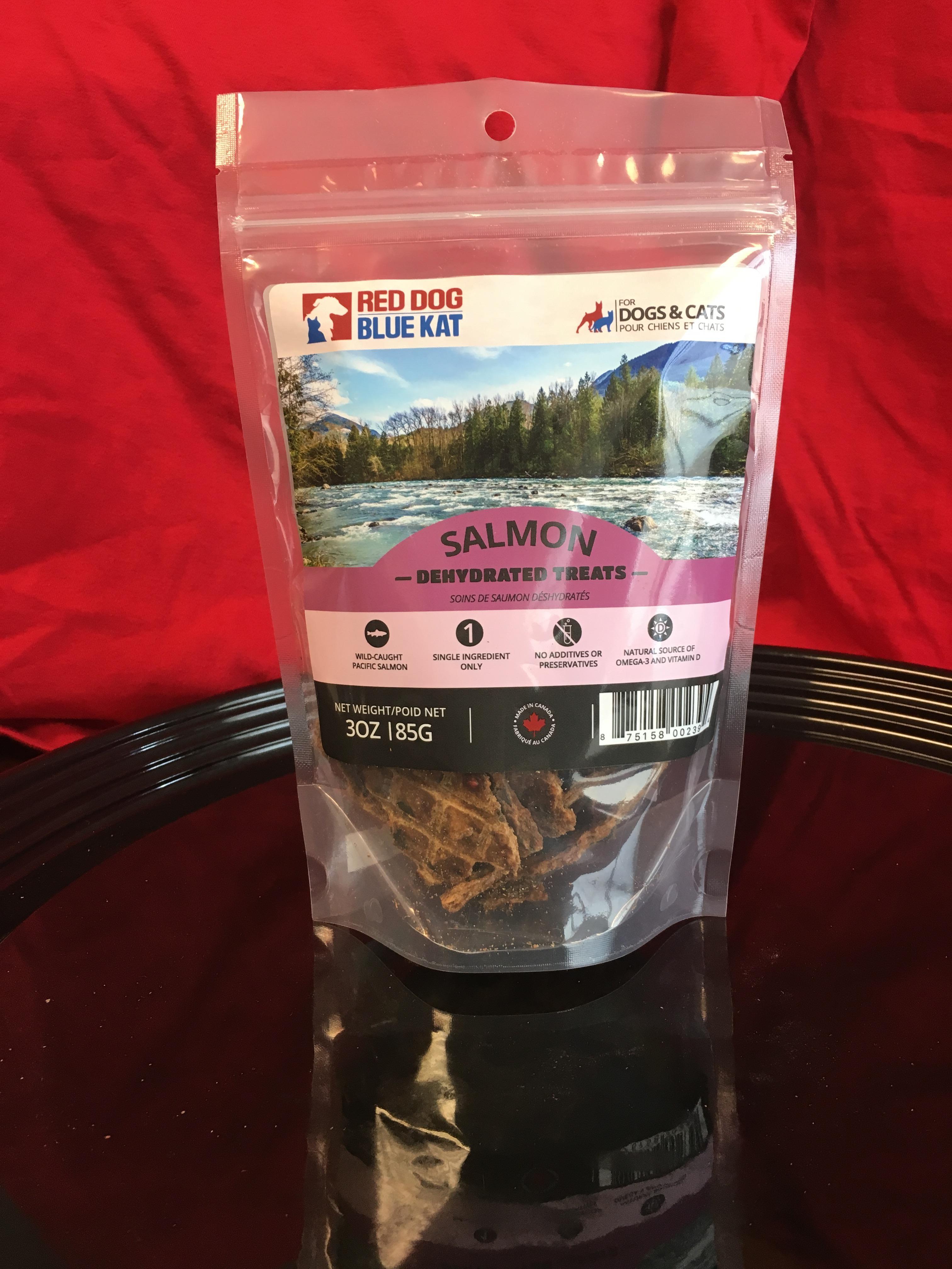 Red Dog Blue Kat Salmon Dehydrated Dog Treats, 85-gram