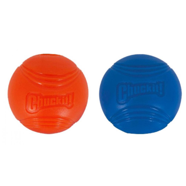 Chuckit! Strato Ball 2-Pack Dog Toys, Medium