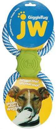 JW Pet Giggle Tug Dog Toy