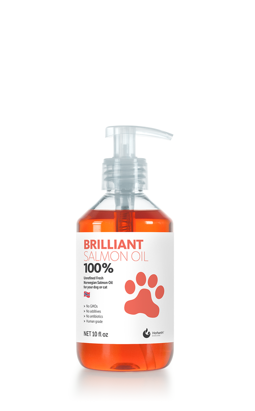Brilliant 100% Salmon Oil Suppliment, 10-oz
