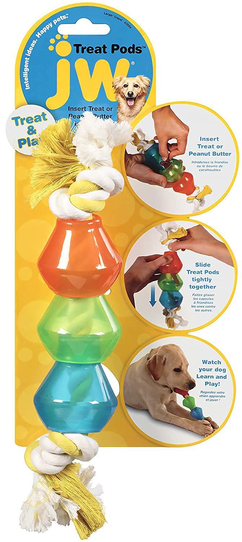 JW Pet Treat Pods Dog Toy, Large