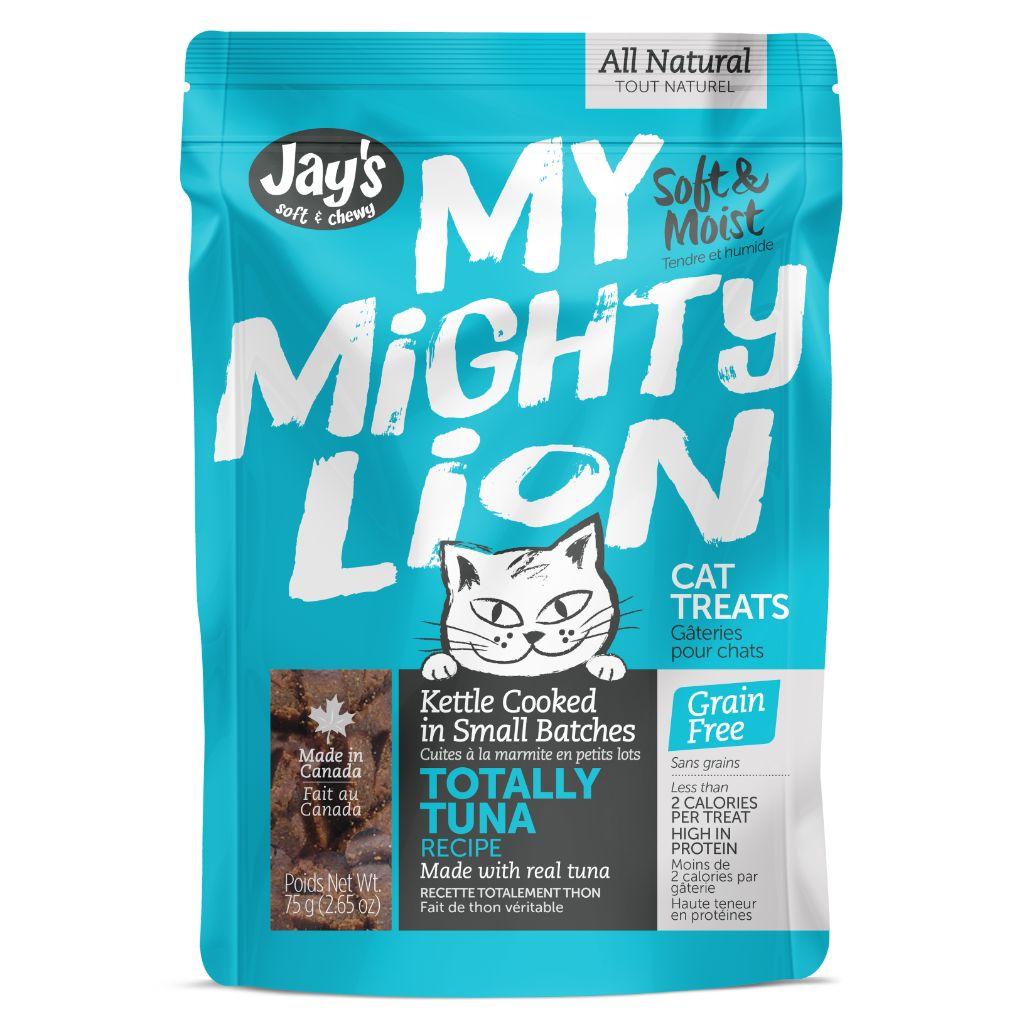 Jay's My Mighty Lion Tuna Cat Treats, 75-G