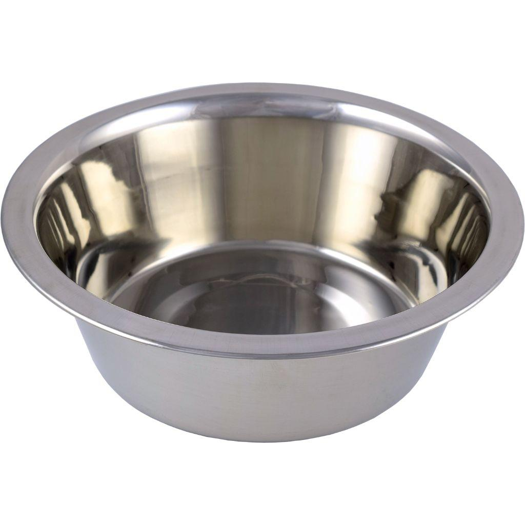 Unleashed Stainless Steel Pet Bowl, 64-oz