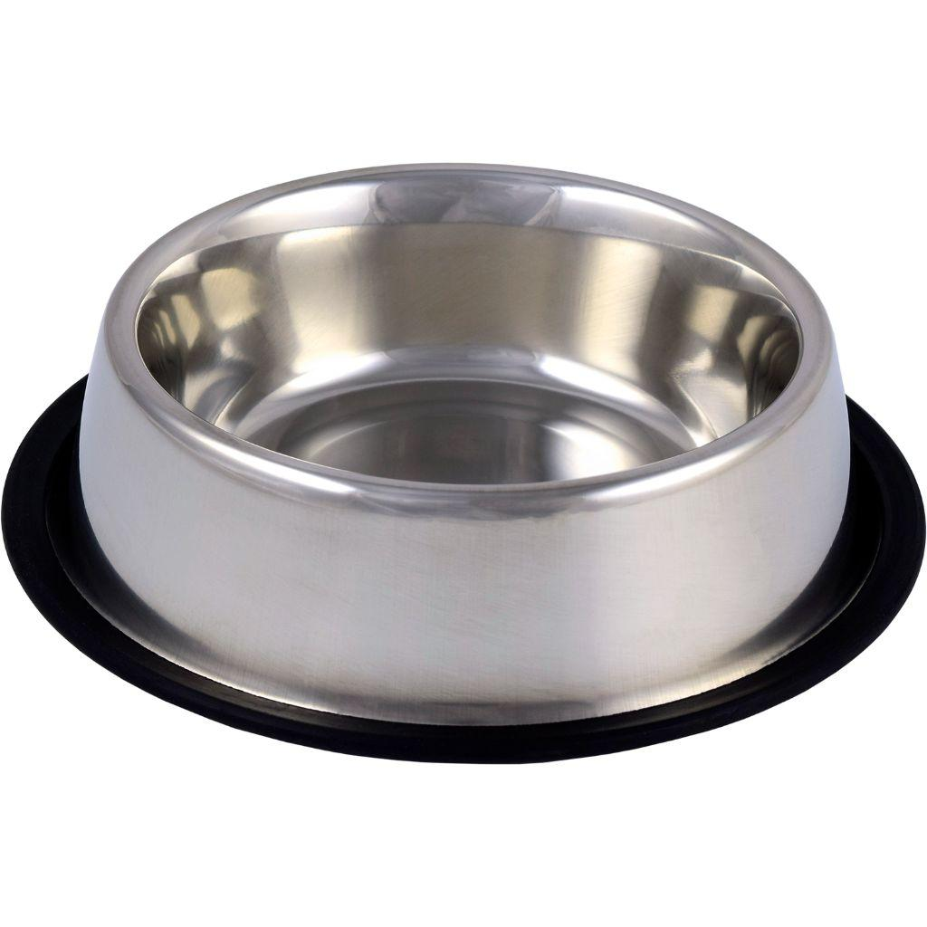 Unleashed Non-Skid Stainless Steel Pet Bowl, 24-oz