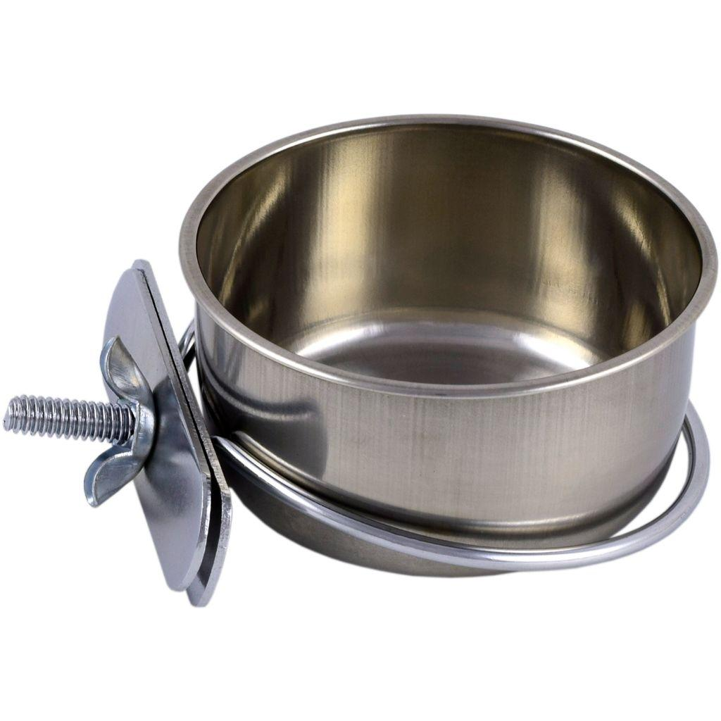 Unleashed Stainless Steel Coop Cup Pet Bowl Image