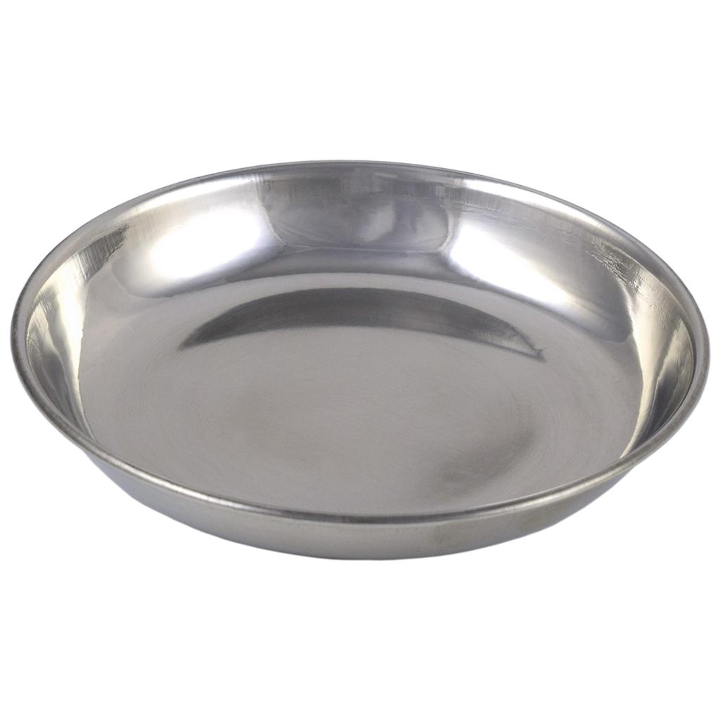 Unleashed Stainless Steel Saucer Cat Dish