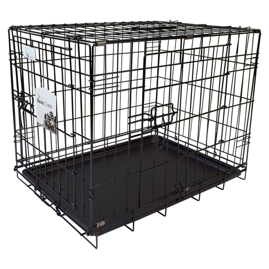 Unleashed Basic Pet Crate, 42 x 28 x 30-in