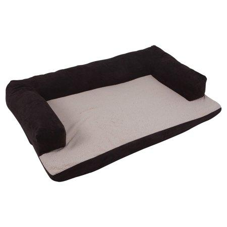 Petmate Bolstered Orthopedic Dog Bed, 54 x 34-in