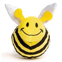 Fabdog Faball Bumblebee Dog Toy, Medium