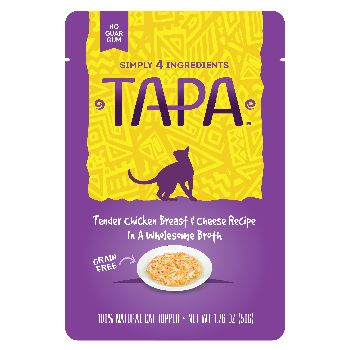 Tapa Topper Chicken & Cheese Pouch, 1.76-oz, case of 8