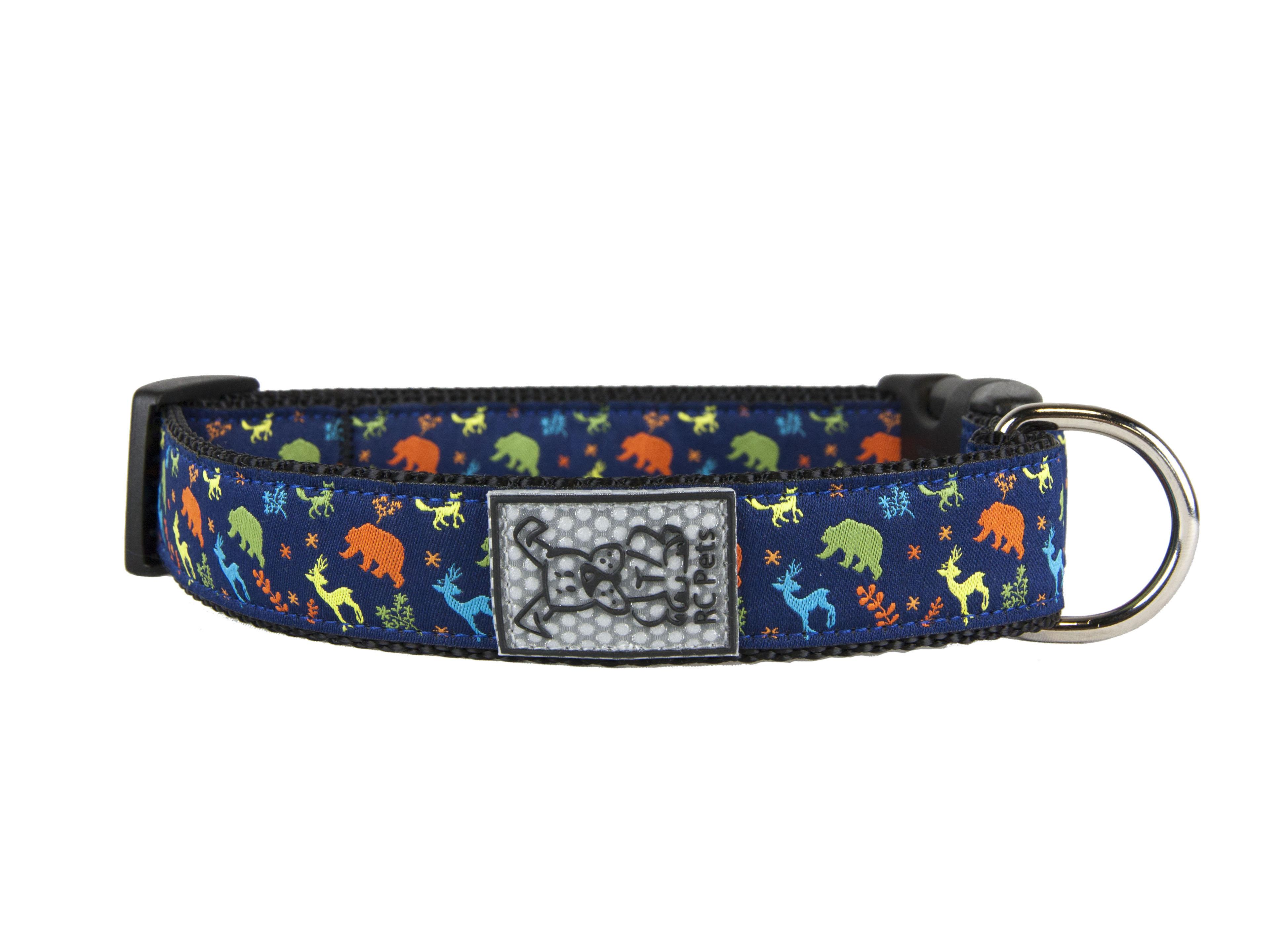 RC Pet Products Clip Dog Collar, Wilderness, X-Small