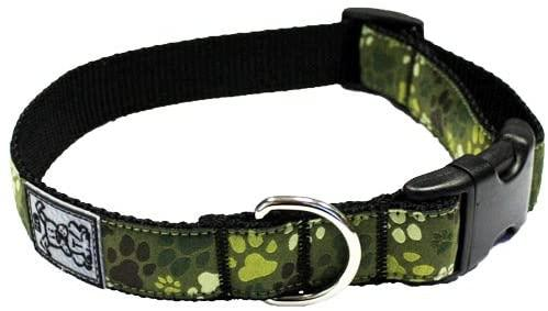 RC Pet Products Clip Dog Collar, Pitter Patter Camo, X-Small