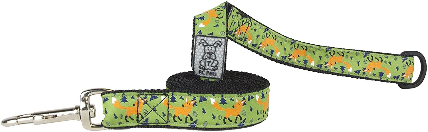 RC Pet Products Dog Lead, Sly Fox, 1-in x 6-ft