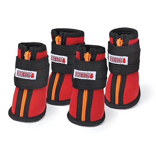 Kong High Top Neoprene Boots, Red, Large
