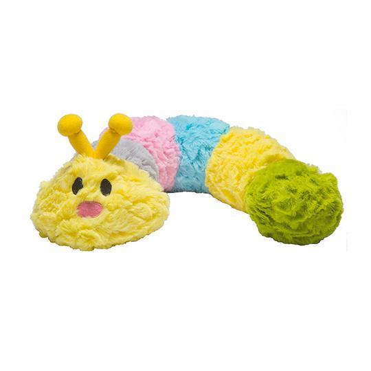 Patchwork Pet Pastel Caterpillar Dog Toy, 35-in