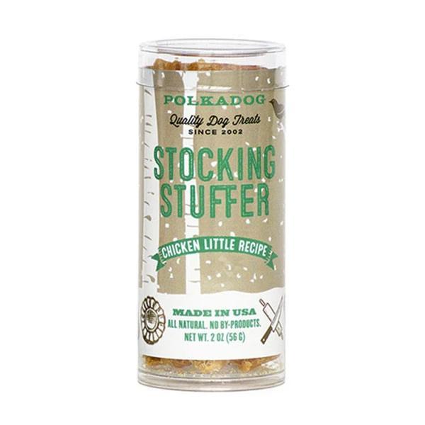 Polkadog Stocking Stuffer Chicken Little Dog Treats, 2-oz