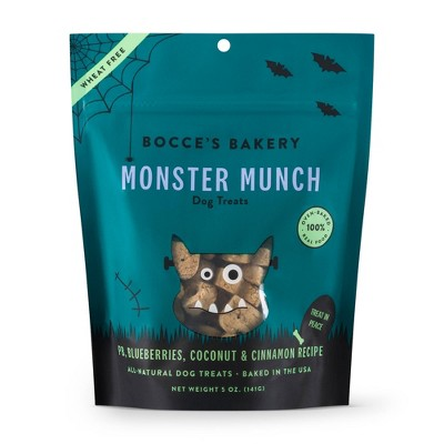 Bocce's Bakery Monster Munch Dog Treats, 5-oz