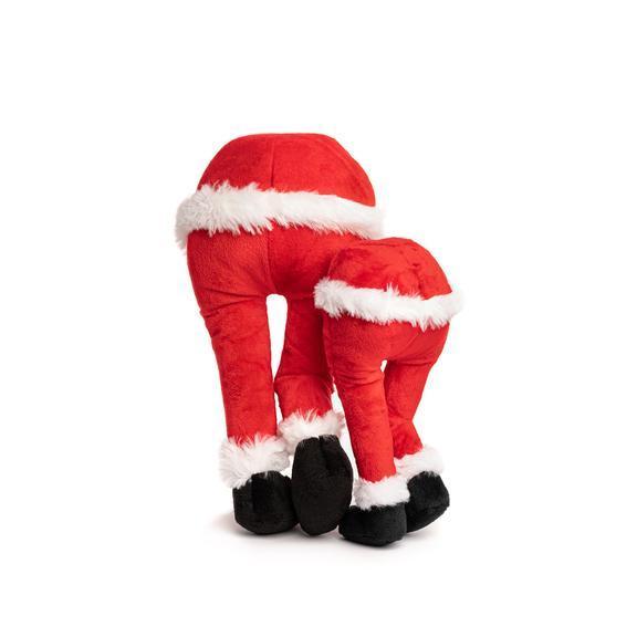 Fab Dog Holiday Santa Fanny Dog Toy, Large