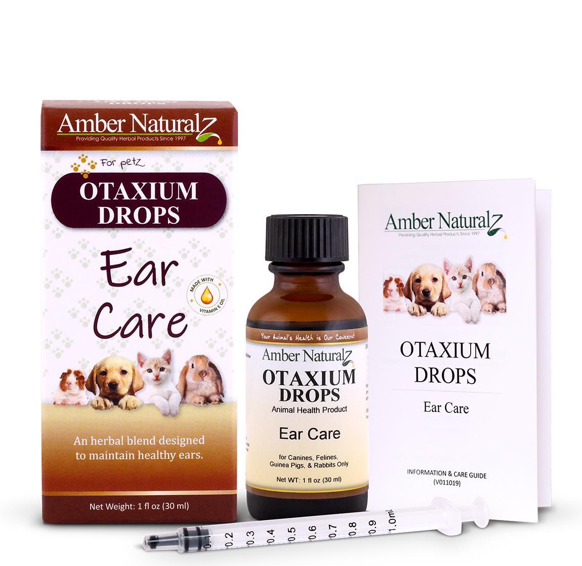 Amber Naturalz Otaxium Drops Pet Supplement, 1-oz