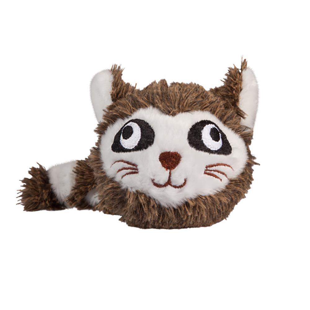 fabdog Faball Dog Toy, Raccoon, Small