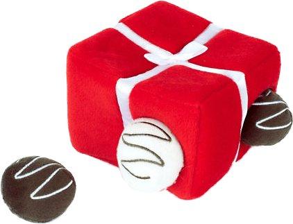 ZippyPaws Burrow Hide & Seek Box of Chocolates Dog Toy