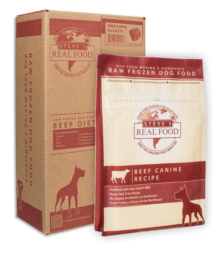 Steve's Prey Diet Bulk Box, Beef, 20lb