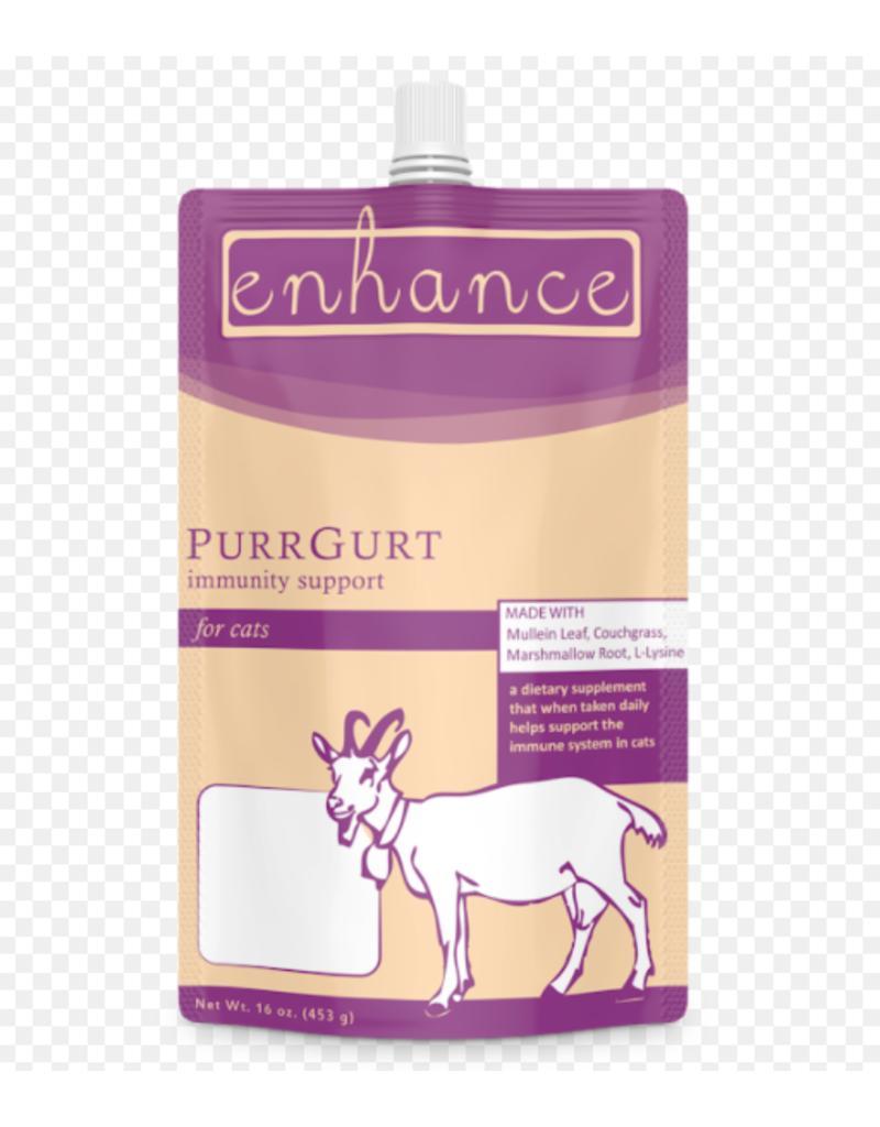 Steve's Enhance PurrGurt Frozen Raw Goat Milk Yogurt for Cats, 16-oz