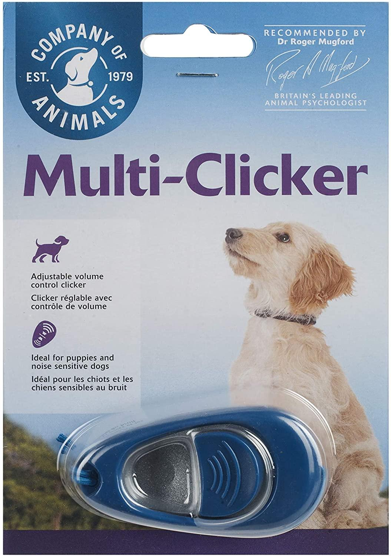The Company of Animals Clix Multi-Clicker Dog Training Tool Image
