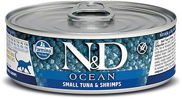 Farmina Ocean Tuna & Shrimp Wet Cat Food, 2.8-oz, case of 12