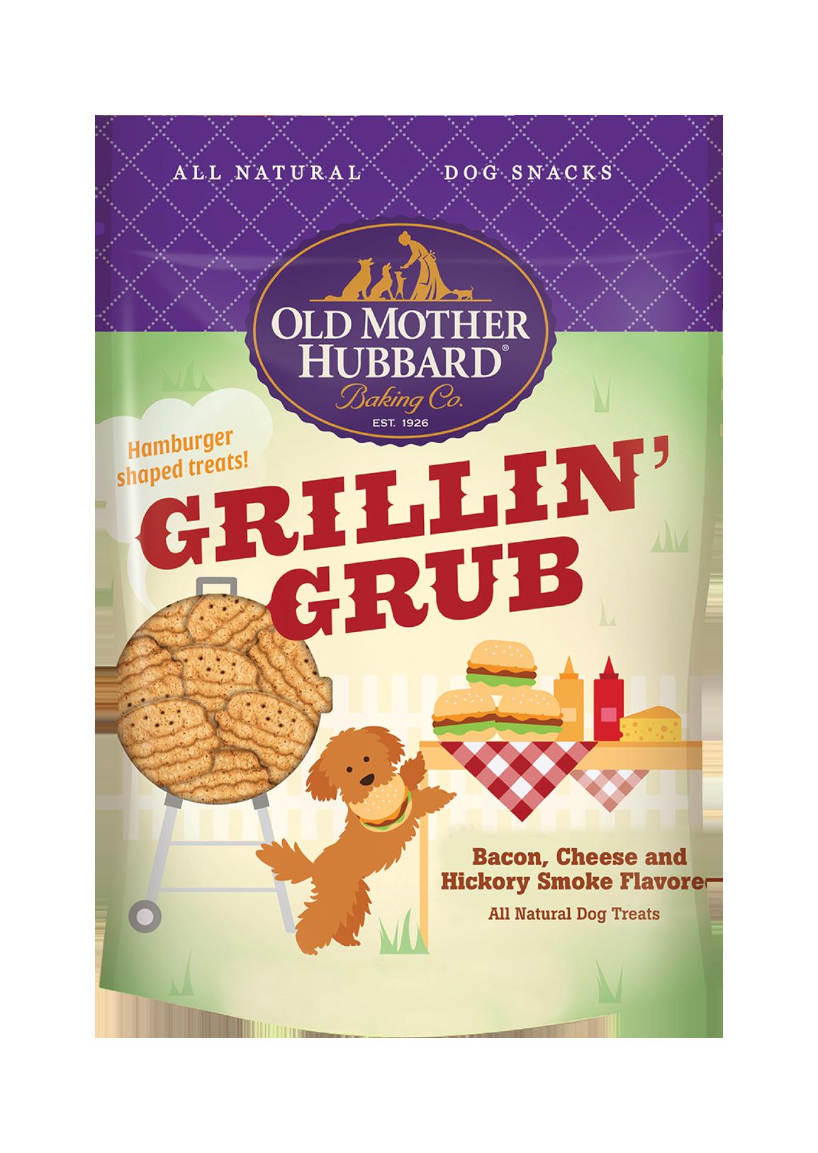 Old Mother Hubbard Grillin' Grub Dog Treats, Large