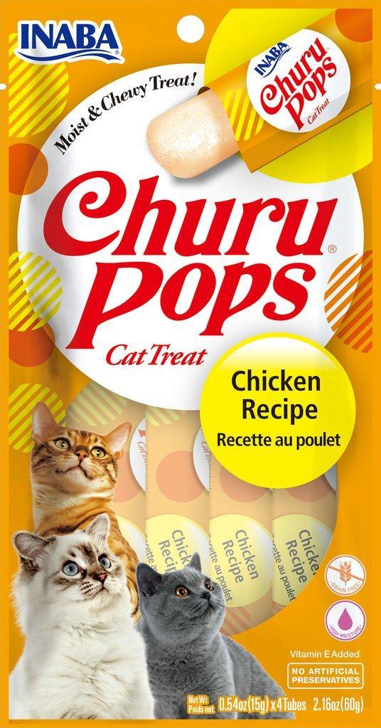 Inaba Churu Pops Chicken Grain-Free Cat Treats Image