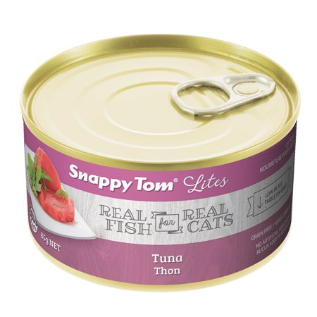 Snappy Tom Small Can Tuna Wet Cat Food, 3-oz