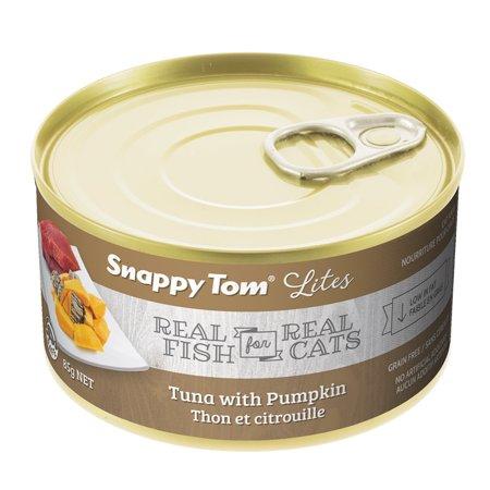 Snappy Tom Small Can Tuna & Pumpkin Wet Cat Food, 3-oz