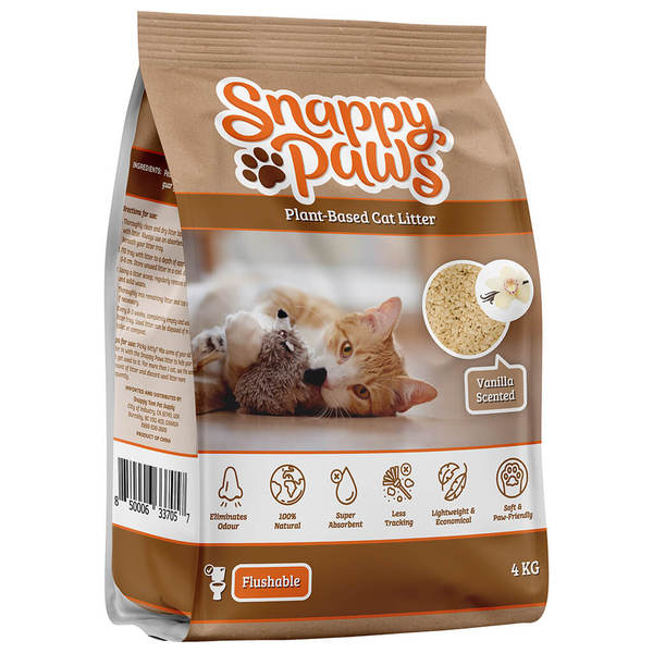 Snappy Paws Cat Vanilla Scent Image