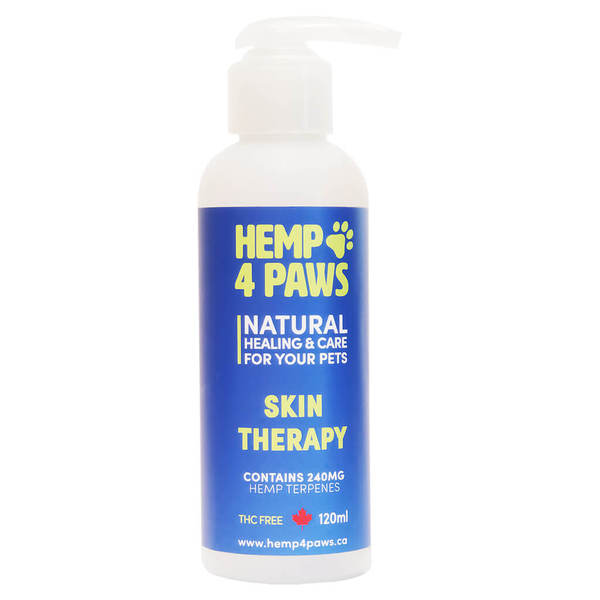H 4 Paws & Skin Therapy Pet Supplement, 240-mg, 120-ml